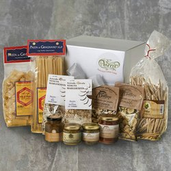 Organic Five Minute Italian Meals Gift Box Inc. Pastas, San Marzano Tomatoes & Sauces