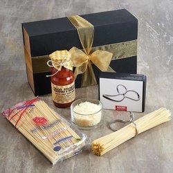 Italian Spaghetti Gift Kit Inc. Gragnano Spaghetti, Alessi Spaghetti Measure & Sauce