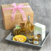 Luxury Italian Breakfast Hamper for Her Inc. Prosecco, Marmalades & Spreads