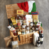 A Taste Of Italy' Deluxe Italian Hamper Inc. Oils, Spreads, Sauces, Pasta, Rice & Wine
