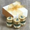 3 'Little Pots of Paradise' Sicilian Nut Spreads - Pistachio, Hazelnut & Almond
