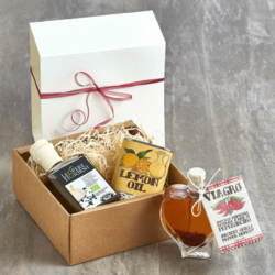 Infused Italian Olive Oil Gift Set With 3 Oils