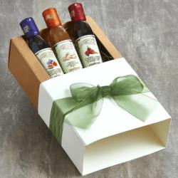 3 Italian Balsamic Glazes from Modena 150ml - Fig, Ginger & Raspberry