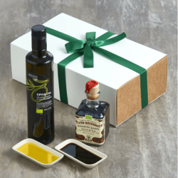 Organic Olive Oil & Balsamic Vinegar Dipping Gift Set