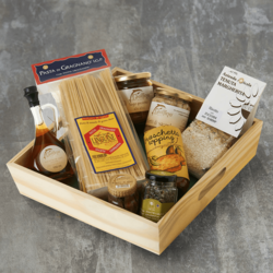 'Deliciously Fishy' Italian Gift Tray Inc. Anchovies, 'Colatura di Alici' Sauce & Puttanesca Sauce