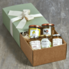 5 Italian Spreads Gift Hamper for Cheese Inc. Honey, Marmalade, Jam & Jelly