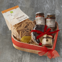 Romantic Italian Dinner for Two Hamper Inc. Paté, Pasta & Figs