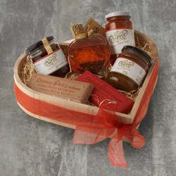 Italian 'Aphrodisiac Delights' Hamper Inc. Chilli Oil, Chilli Modican Chocolate & Extra Fig Jam