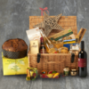 Luxury Italian Christmas Hamper Inc. Wine, Prosecco, Panettone, Pasta & Sauces