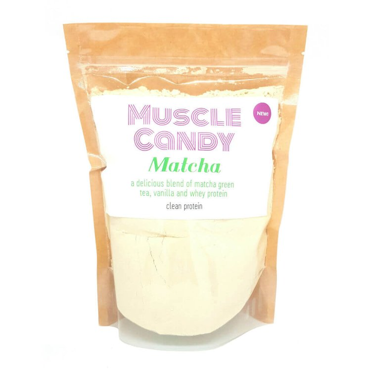 Matcha Clean Green Tea Whey Protein Powder with Vanilla 500g by Muscle Candy