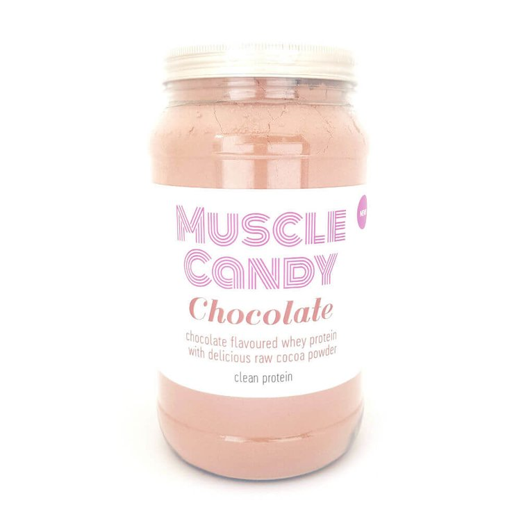 Chocolate Clean Whey Protein Powder (with Raw Cocoa Powder) 1kg by Muscle Candy