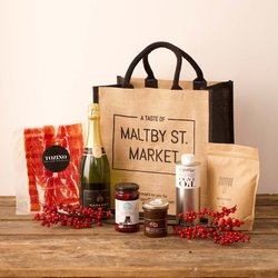 'A Taste of Maltby St. Market' - Deli Produce Gourmet Limited Edition Gift Set Hamper