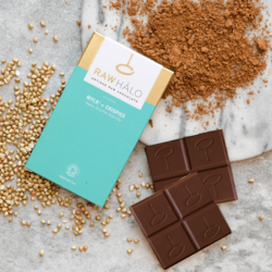Organic Mylk + Crispies Raw Chocolate Bar 35g