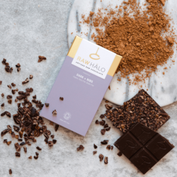 Organic Dark + Nibs Raw Chocolate Bar 35g