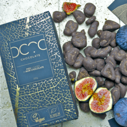 Raw Chocolate Coated Figs 200g (Vegan, Organic)