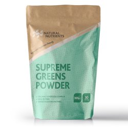 'Supreme Greens' Superfood Powder with 35 Organic Superfoods 300g (Vegan)