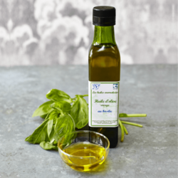 French Basil Extra Virgin Olive Oil 250ml (Organic)