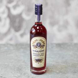 French Rosé Pineau de Charentes AOC Wine Vinegar 250ml (For Salads, Dressings & Meat)