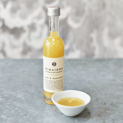 French Citrus Fruit & Pineau de Charentes White Wine Vinegar 100ml (For Fish & Salads)