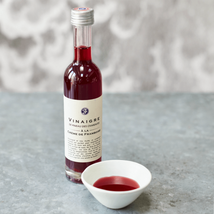 French Raspberry & Pineau de Charentes White Wine Vinegar 100ml