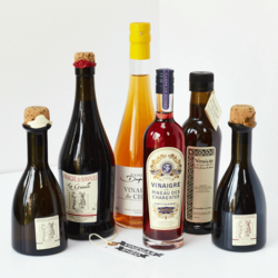 'Six of the Best' Artisan Vinegar Gift Box Inc. Apple Cider Vinegar, Red & White Wine Vinegars