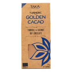Golden Cacao Hot Chocolate Drink with Turmeric, Cacao & Maca 125g