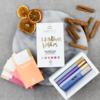 'Christmas Wishes' Organic Raw Chocolate Gift Box Inc. 6 x 35g Vegan Bars
