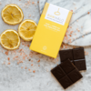 Organic Lemon & Pink Salt Dark Raw Chocolate Bar 35g
