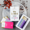 'Hey Beautiful' Organic Raw Chocolate Gift Box Inc. 6 x 35g Vegan Bars