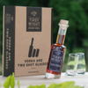 Blackcurrant Vodka Liqueur & Glasses Gift Set with 20cl Bottle & 2 Shot Glasses by Tipsy White