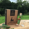 English Beech Leaf Vodka Liqueur & Glasses Gift Set with 20cl Bottle & 2 Shot Glasses by Tipsy White