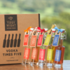 Vodka Liqueurs 'Winter' Gift Set with 5 Flavours Inc. Chilli, Hazelnut & Spiced Honey by Tipsy Wight