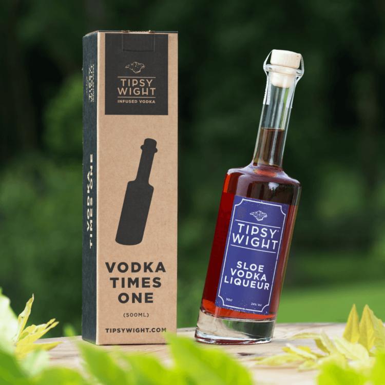 Sloe Vodka Liqueur 50cl by Tipsy Wight