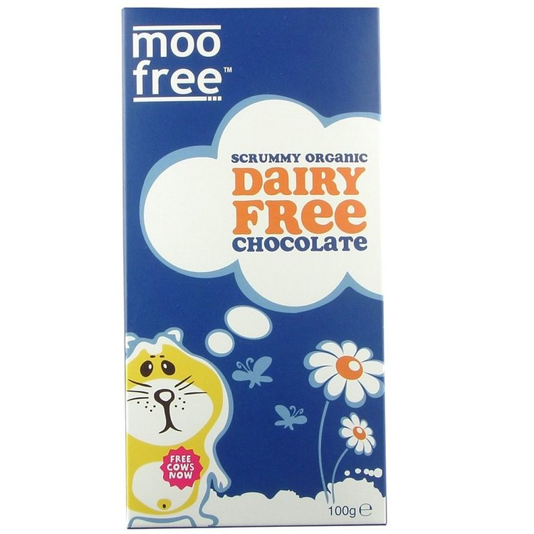 Dairy-Free Organic Chocolate Bar 100g