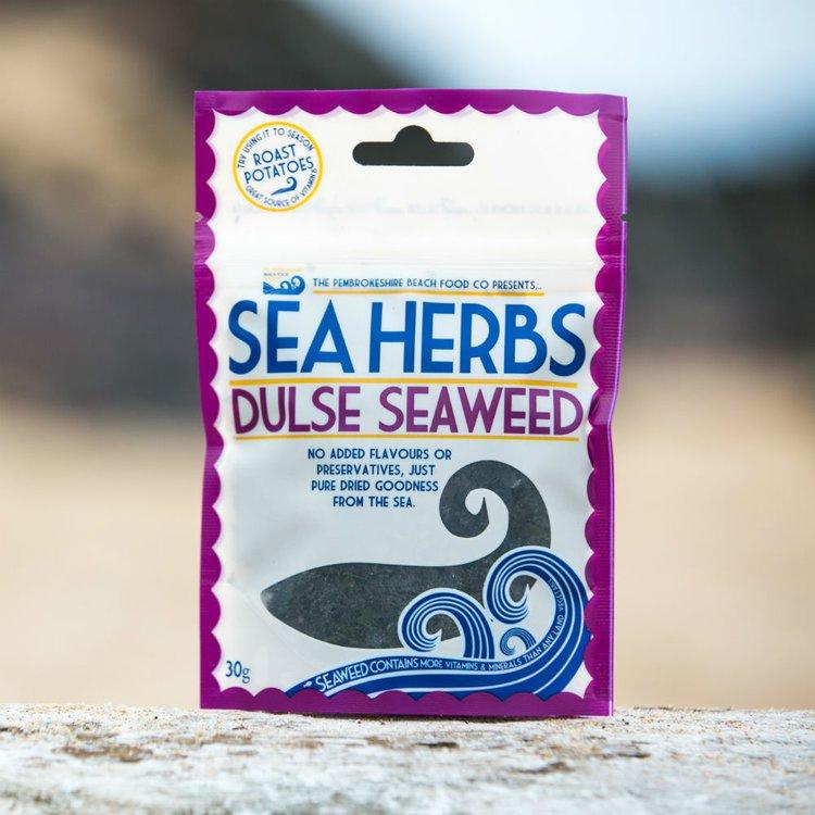 'Sea Herbs' Dried Wild Dulse Seaweed Flakes 30g