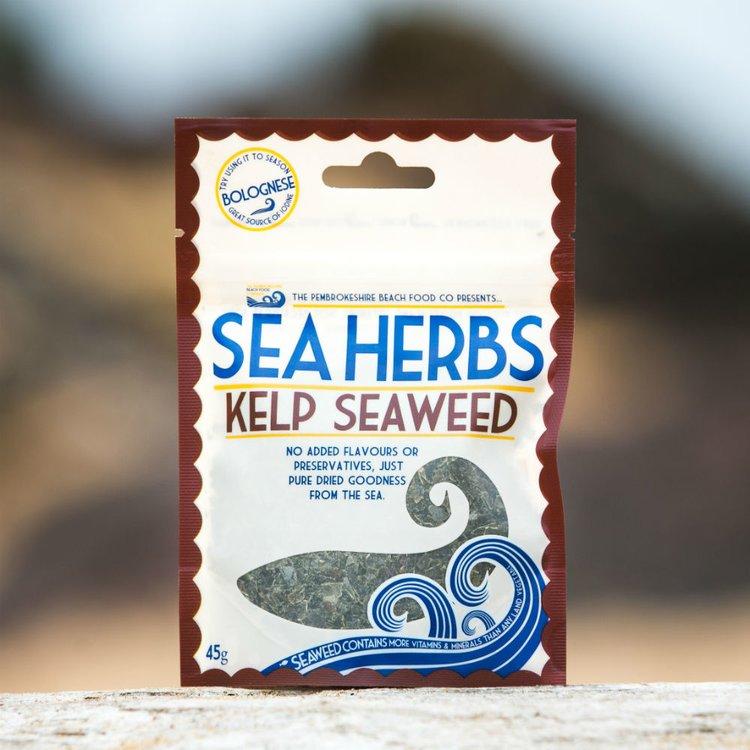 'Sea Herbs' Dried Wild Kelp Seaweed Flakes 45g