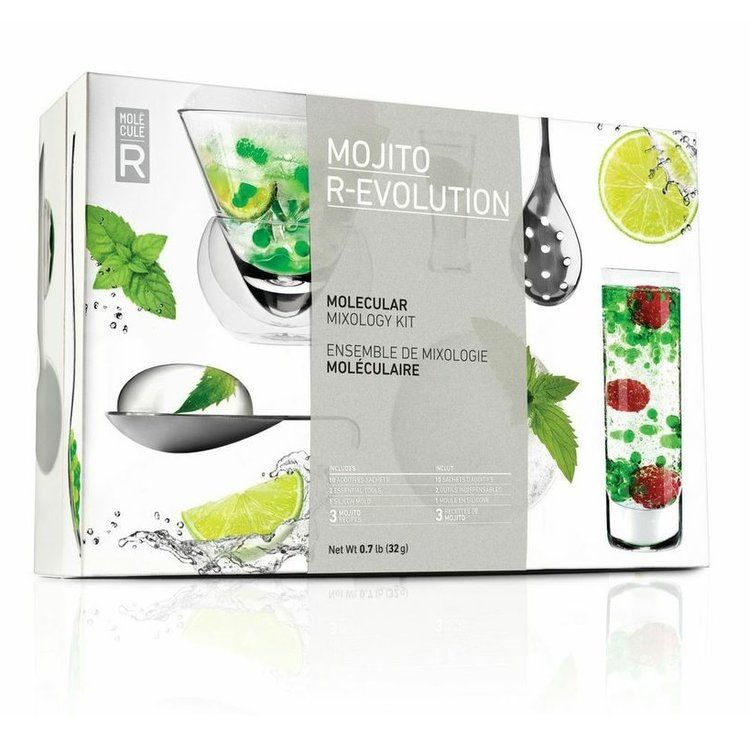 Molecular Mojito Cocktail Mixing Kit