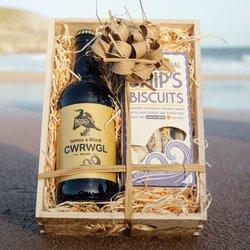 Seaweed Biscuits & Beer Gift Hamper
