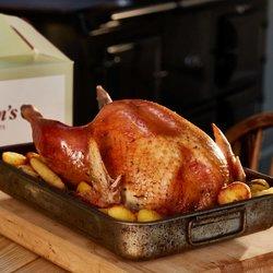 4.5kg Free-Range Norfolk Bronze Turkey (Serves 6-8)