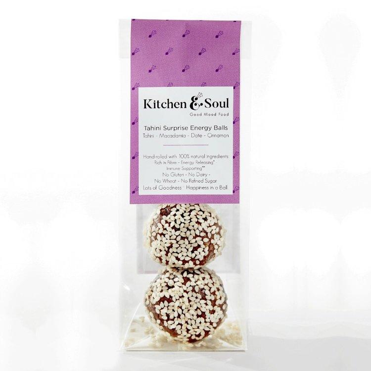 'Tahini Surprise' Energy Balls with Macadamia Nuts & Maca 60g
