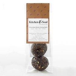 'Chocolate Bomb' Raw Cocoa Energy Balls 60g