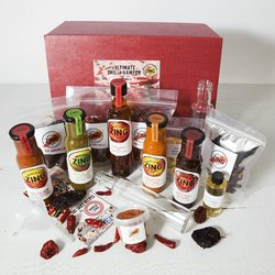 Ultimate Chilli Lovers Gift Hamper Inc. Rare Chillies, Sauces, Spices & Sauce Making Kit