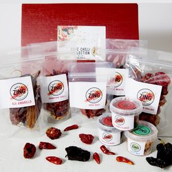 Rare Chilli Collection Gift Set for Chilli Lovers Inc. Recipe Booklet