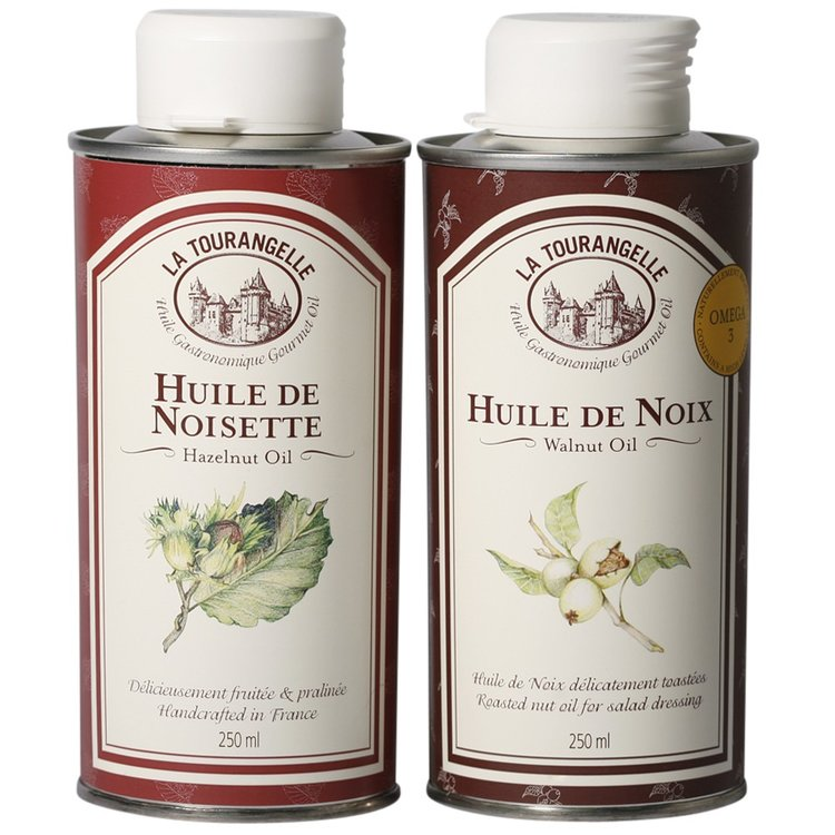 Hazelnut & Walnut Oil Set 2 x 250ml
