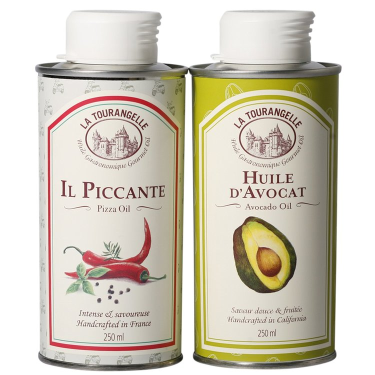 Il Piccante Spicy Pizza Oil & Avocado Oil Set 2 x 250ml