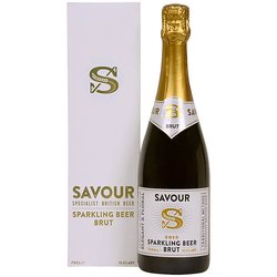 Sparkling Beer Brut in Gift Box by Savour Beer 750ml (Champagne Style)