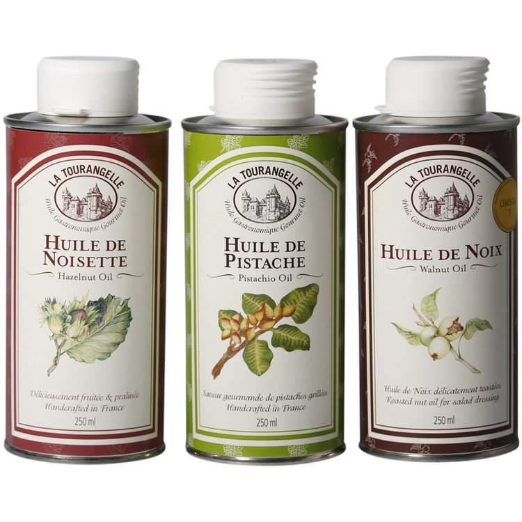 Hazelnut, Pistachio & Walnut Oil Trio 3 x 250ml