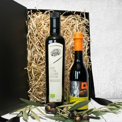 Organic Extra Virgin Olive Oil & Balsamic Vinegar of Modena IGT Gift Set