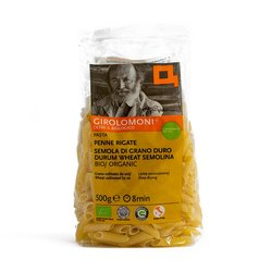 Organic Durum Wheat Penne Rigate Pasta 500g