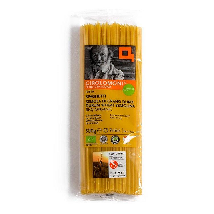 Organic Durum Wheat Spaghetti Pasta 500g